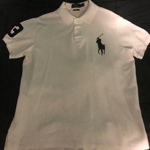 White Ralph Lauren polo